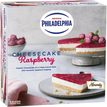 Cheesecake Philadelphia Raspberry 400g Almondy