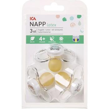Napp Latex Djur 3-p ICA