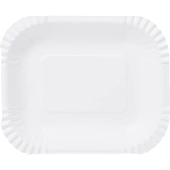 Engångstallrik Pommes 16x19cm 30-p ICA