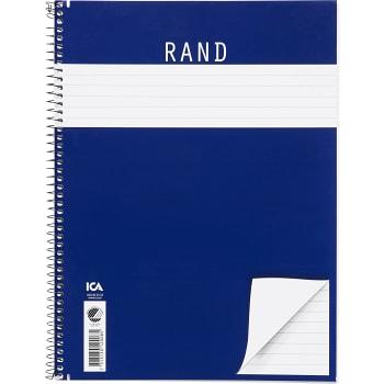 Kollegieblock Rand A4 ICA