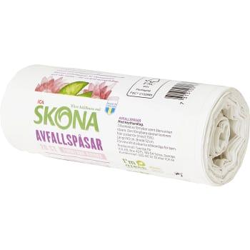 Avfallspåse Förnybar 20-p ICA Skona