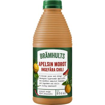 Juice Apelsin morot & ingefära chili 850ml Brämhults