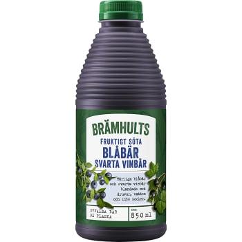 Juice Blåbär & svarta vinbär 850ml Brämhults