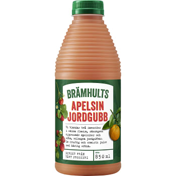 Juice Apelsin & jordgubb Nypressad 850ml Brämhults
