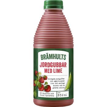 Juice Jordgubb & lime 850ml Brämhults