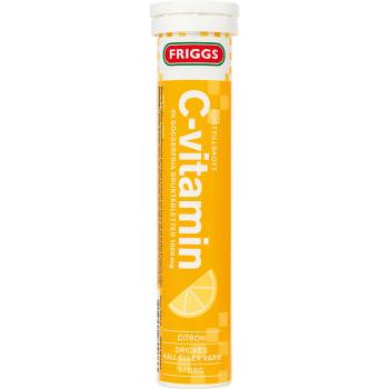 C-vitamin Citron Sockerfri brustablett Kosttillskott 20-p 1000mg Friggs