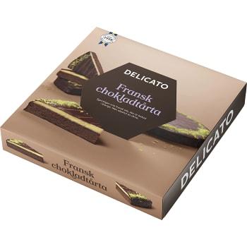 Fransk chokladtårta 14 Bitar 850g Delicato