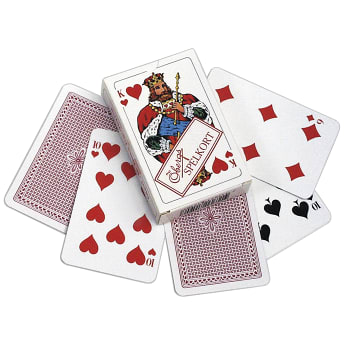 Kortlek Poker Röd Öbergs
