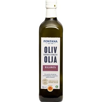 Extra virgin Olivolja Kalamata 750ml Fontana