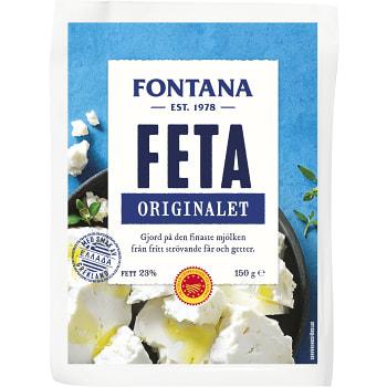 Fetaost Original 150g Fontana