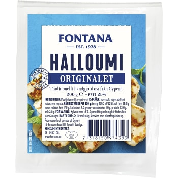 Halloumi Original 200g Fontana