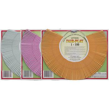 Lottring Fair-play Blandade färger 1-100 Sandö