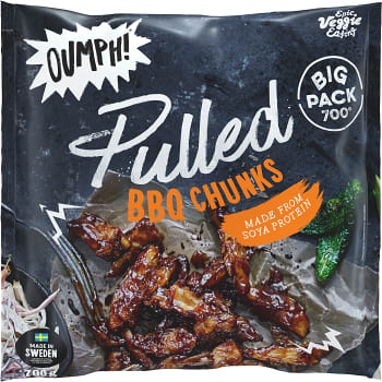 Pulled oumph Vegetarisk 700g Oumph