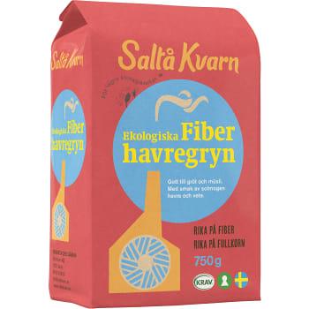 Fiberhavregryn 750g KRAV Saltå Kvarn