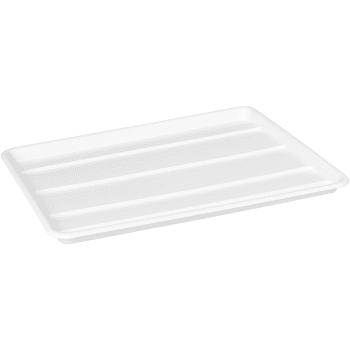 Diskställsbricka Vit 32,5x45,5x2,3cm Nordiska Plast AB