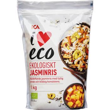 Jasminris Ekologisk 1kg ICA I love eco