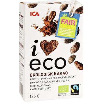Kakao Ekologisk 125g  ICA I love eco