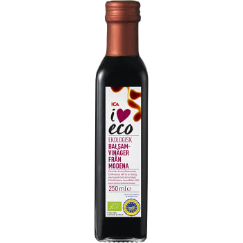 Balsamvinäger Ekologisk 250ml ICA I love eco