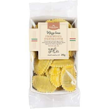 Mezze Luna Färsk spenat & parmesan 250g ICA Selection