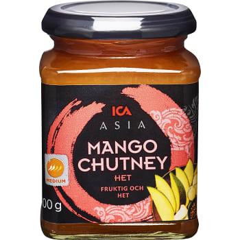 Mango chutney Hot 300g ICA Asia