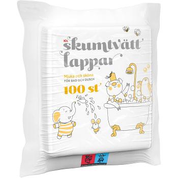 Tvättlappar 100-p ICA