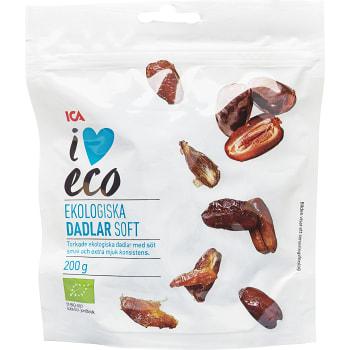 Dadlar Soft Ekologisk 200g ICA I love eco