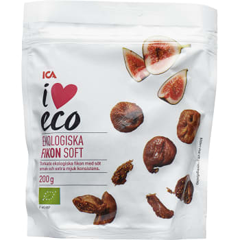 Fikon Soft Ekologisk 200g ICA I love eco