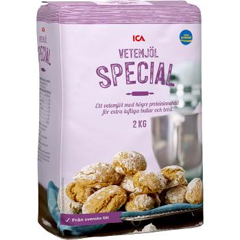 Vetemjöl Special 2kg ICA