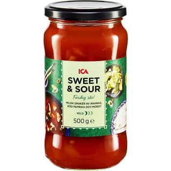 Sweet & sour Mild Färdig sås 500g ICA