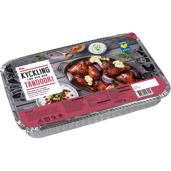Bordskyckling tandoori Fryst 1,1kg ICA