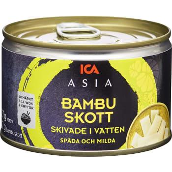 Skivade Bambuskott 227g ICA Asia