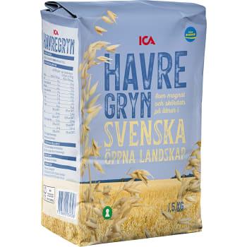 Havregryn 1,5kg ICA