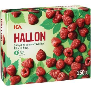 Hallon Fryst 250g ICA