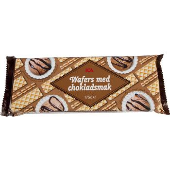 Wafers med Chokladsmak 175g ICA
