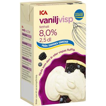 Vaniljvisp 8,5% 2,5dl ICA