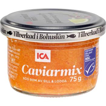 Caviarmix Röd rom 75g ICA