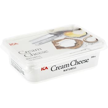 Cream cheese Naturell 200g ICA
