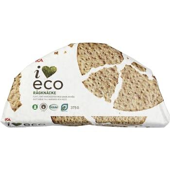 Rågknäcke 375g KRAV ICA I love eco