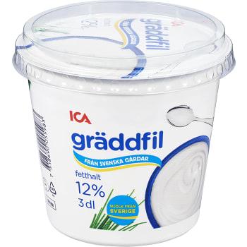 Gräddfil 12% 3dl ICA