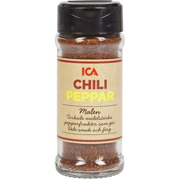 Chilipeppar Malen 40g ICA