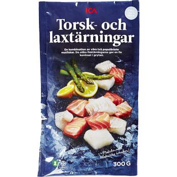 Torsk & laxtärningar Fryst 300g ICA