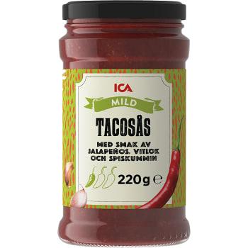 Tacosås Mild 220g ICA