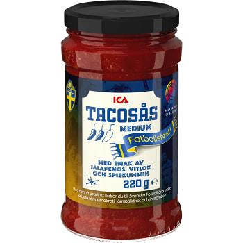 Tacosås Medium 220g ICA