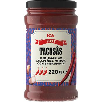 Tacosås Hot 220g ICA