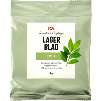 Lagerblad 4g ICA