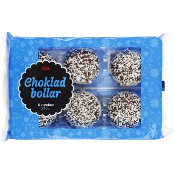Chokladbollar 6-p 240g ICA