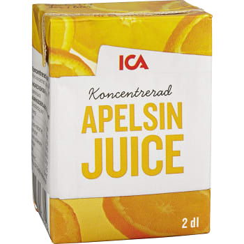 Apelsinjuice Koncentrat 2dl ICA