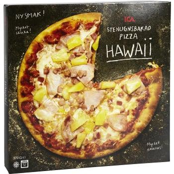 Stenugnsbakad pizza Hawaii Fryst 370g ICA