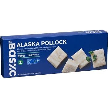 Alaska pollock Fryst 400g ICA Basic