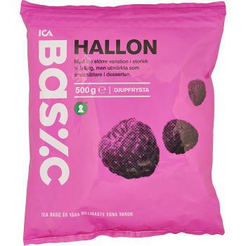 Hallon Fryst 500g ICA Basic